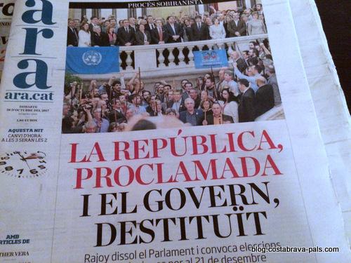 crise indépendance Catalogne espagne