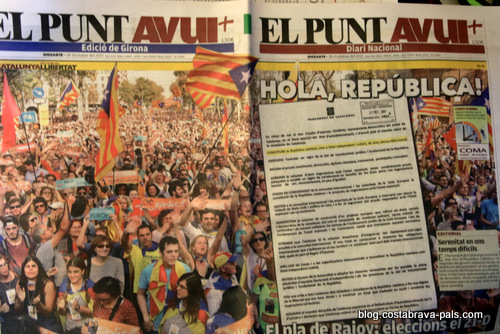 crise de l'indépendance en Catalogne - la victoire éphémère
