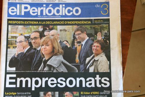 crise de l'indépendance en Catalogne