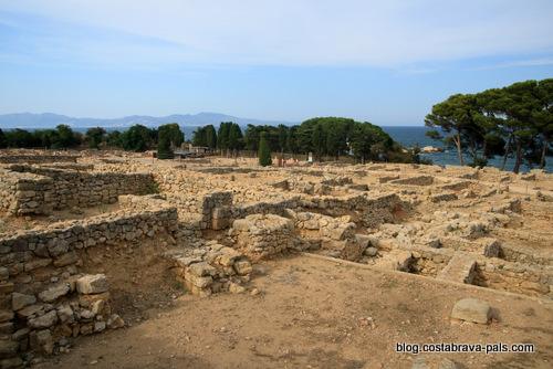 ruines d'empuries - Baie de Rosas