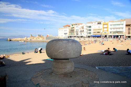 L' Escala en Espagne sur la Costa Brava