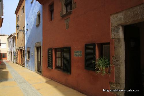 Le village de Begur, Costa Brava Espagne RUE