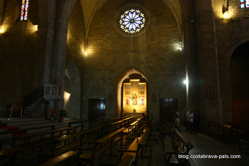 Dali à Figueras - eglise sant pere