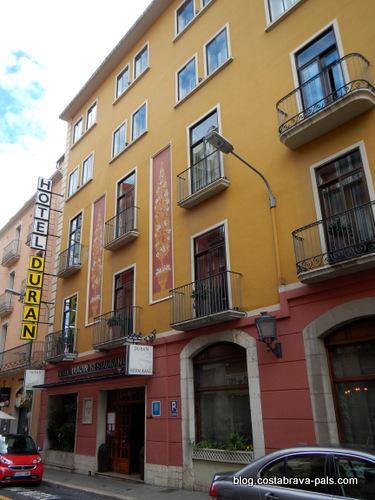 Dali à Figueras - Hotel Duran