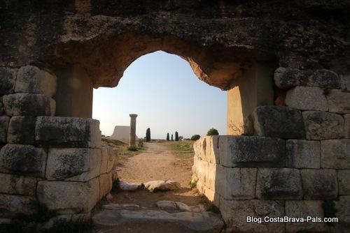 ville romaine d'Empuries, la muraille