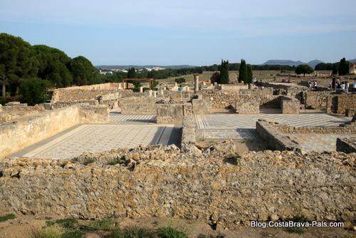 ville romaine d'Empuries, vue générale