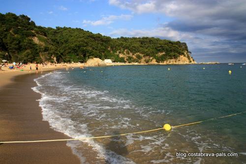 plages à Lloret de Mar - Cala canyelles