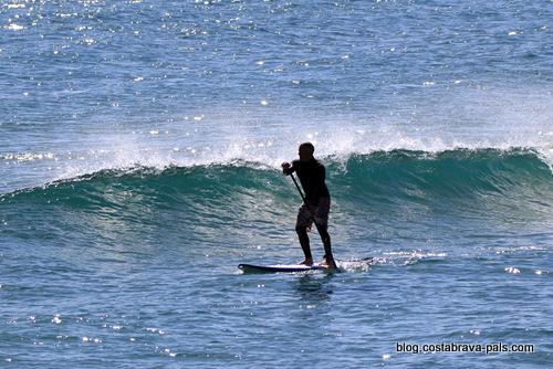 Les sports nautiques sur la Costa Brava - Paddle surf