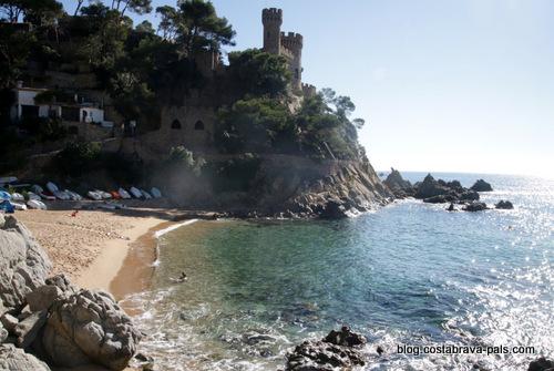 plage de Lloret - castell d'en Platja - Sa caleta