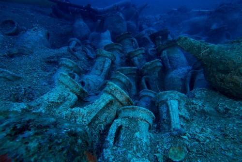épave romaine des iles Formigues Palamos Costa Brava