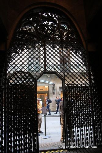 palais Guell à Barcelone - Palau Guell - portes en fer forgé