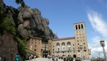 MOnstère de Montserrart Catalogne espagne