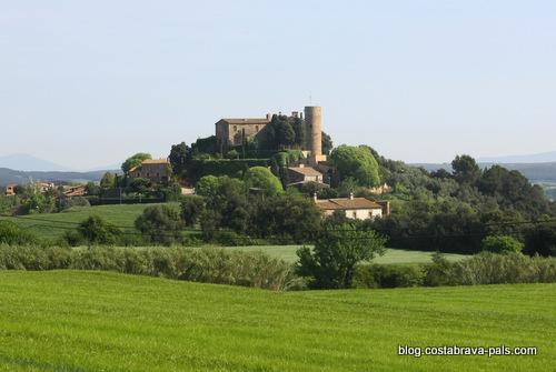 foixa -villages médiévaux de la Costa Brava