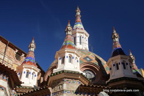 L'église moderniste de Lloret de Mar, Sant Roma