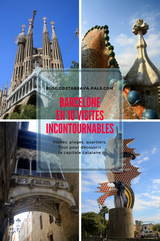 Barcelone en 10 visites incontournables