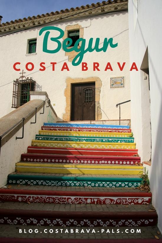le village de Begur Costa Brava Espagne