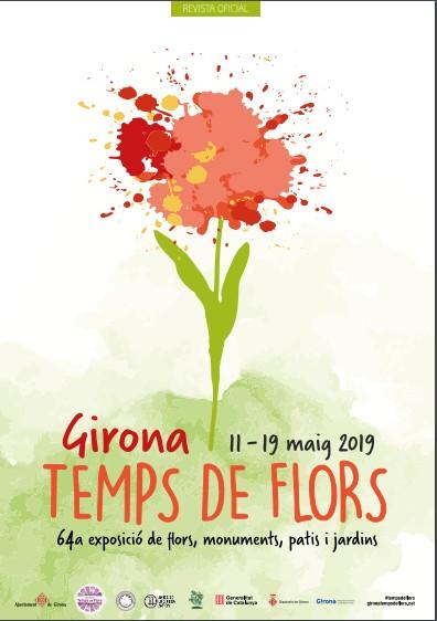 Fête des fleurs Gérone 2019, Girona temps de Flors 2019