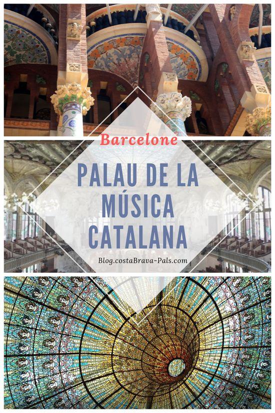 Le Palais de la musique catalane à Barcelone, joyaux du modernisme