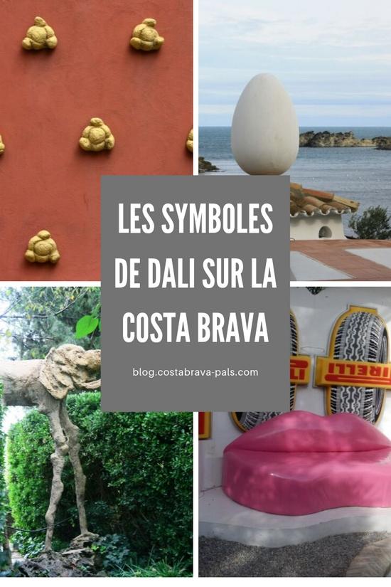 Les symboles de Dali sur la Costa Brava
