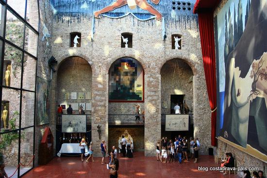 Musée Dali de Figueras - la scene