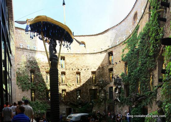 Musée Dali de Figueras - la cour