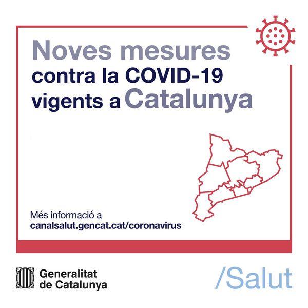 Catalogne mesures covid-19 Costa brava
