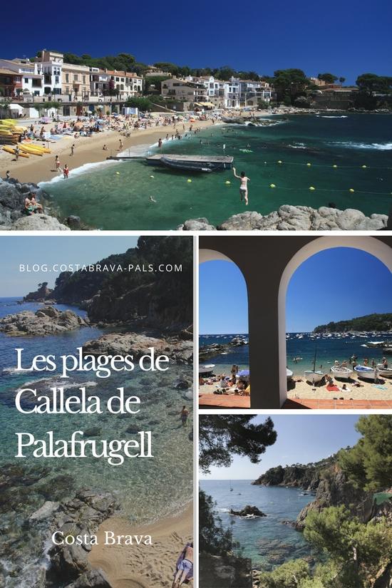 plages à Calella de Palafrugell